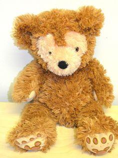 """Walt Disney Hidden Mickey Pre Duffy Plush Teddy Bear Brown 18"""" #Disney"""