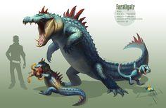 -Feraligatr- by arvalis.deviantart.com on @deviantART