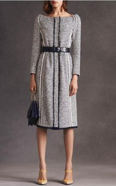 Oscar de la Renta Look 5 on Moda Operandi