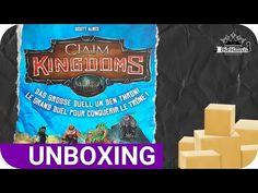 Unboxing | CLAIM Kingdoms Brettspiel für 2 Personen (Game Factory Plättchenlegespiel Neuheit 2021) - YouTube Snack Recipes, Snacks, Pop Tarts, Packaging, Youtube, Food, Board Games, Projects, Snack Mix Recipes