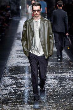 Fendi Spring 2016 Menswear Fashion Show: Complete Collection - Style.com