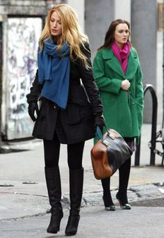 Gossip Girl Season 5 On-Set Style | Gossip Girl | Blake Lively Photos | Leighton Meester Photos - Blake Livley - Page 85 | Celebrity Pictures | Marie Claire
