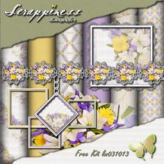 Scrappiness Downunder: Free Kit lm031013