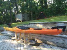 Kayak stand DIY