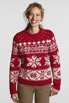 Fair isle/stereotypical Christmas sweaters? : crochet