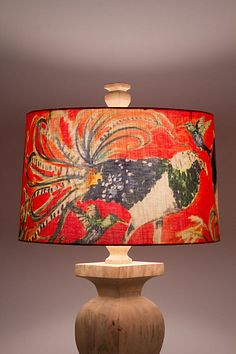 lamp shade - anthro (weird but I kind of love it)