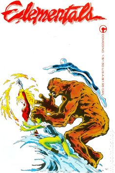 Elementals (1984 1st Series Comico)   Bill Willingham