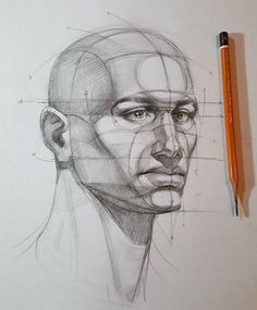 Images of portrait drawing tutorial - Anatomy Sketches, Anatomy Art, Anatomy Drawing, Drawing Sketches, Art Drawings, Head Anatomy, Pencil Drawings, Sketching, Drawing Heads