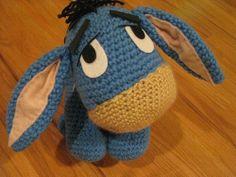 Crochet Amigurumi Eeyore : Crafts: Crochet, Muppets & Pooh on Pinterest Eeyore ...