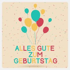 Image result for birthday wishes in german
