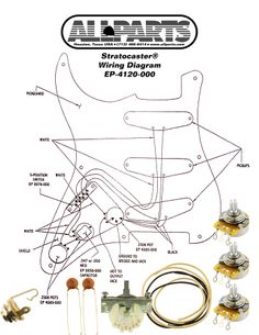 113 best kits images cigar box guitar guitar building music India Wiring Mess wiring kit for stratocasters available online from allparts the leading distributor of guitar electronics guitar parts and parts