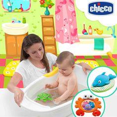A hora do banho pode ser a hora mais divertida para o seu bebê. Aproveite para interagir com ele. Tartaruga Pintadinha, Golfinho Nadador e Sr. Carangueijo