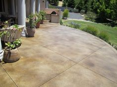 Concrete Patio Designs Photos | Stain Concrete Patio Ideas In Patio Porches