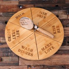 Personalized Pizza Board, Pan with Pizza Cutter