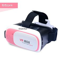 YART Google Cardboard VR BOX 3.0 Pro1.0 Version Virtual Reality 3D Glasses + Smart Bluetooth Wireless Remote Control Gamepad,Pink Color. NEW IMPROVED Virtual Reality Design. Uses high quality ABS and 42mm diameter spherical resin lens material without stimulation plastic sheet, environmental, high quality, lowering down the distortion to the minimum when magnifying the images and providing wider view; You will not feel visual fatigue and dizzy even you use it for a long time because of…