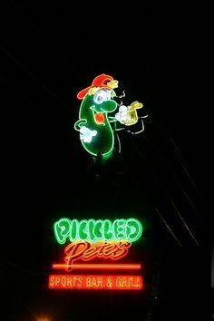 Awesome Nostalgic Neon Sign