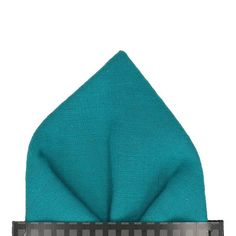 A textured cotton in deep turquoise blue. Pre-folded styles are sewn into a cardboard sleeve for convenience and consistency. For an unfolded pocket square, a handkerchief is also available. Made in Britain. Made with Textured Cotton. Black Pocket Square, Pocket Square Rules, Topcoat Men, Boyfriend Photos, Dream Boyfriend, Chicken Pockets, Cufflink Set, Brown Sneakers, Polyester Satin
