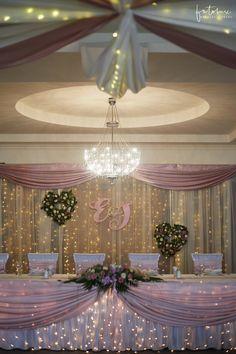 Esküvői helyszínek: Dabas Hotel főasztal