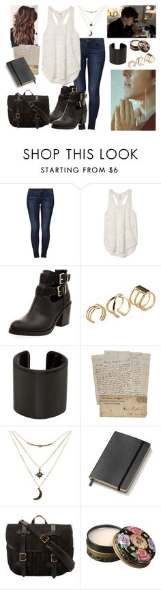 """""""Untitled #266"""" by asgardianka on Polyvore featuring Jacqueline De Yong, Episode, ALDO, Ann Demeulemeester, Charlotte Russe, Moleskine, Filson and Anna Sui"""
