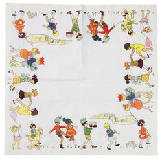 sweet party napkins for children's parties