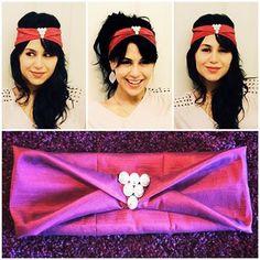 #Turbans!!! I have just finished this #beautiful #handcrafted #metallic #burgundy #headband with a #lovely #charm. Perfect for that #boho or #indie style Emoticon smile! Check out my #etsy shop: TheFlowerGirlStore to get yours Emoticon smile. #etsyshop #etsyshopshoutout #etsyelite #etsyfashionhunter #etsyhunter #handmadeloves #theverybestofetsy #craftsposure #etsygiftideas #handmadehotspot #creamofetsy #TheFlowerGirl #Arbolito #arbolitomexart #fashion #lady #hairpiece #hairfashion #haircandy