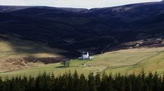 Corgarff Castle in Strathdon as viewed from the Lecht Road, Aberdeenshire, Scotland