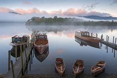 Derwent Water in the Lake District District of England