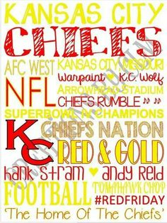9 x 12 SubwayArt Kansas City Chiefs. 'Rustic' Looking Canvas by… Kansas City Chiefs Football, Kansas City Royals, Kc Football, Arrowhead Stadium, Sports Fanatics, Kansas City Missouri, Home Team, Subway Art, My Escape