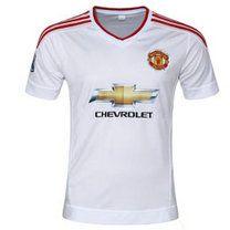Manchester United 2015-16 season Away White Jersey [93]