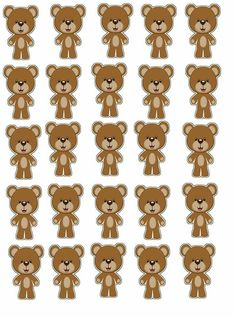 Baby Shower Oso, Teddy Bear Baby Shower, Baby Shower Themes, Baby Crib Bedding, Tatty Teddy, Baby Boy Newborn, Ideas, Alphabet Baby Showers, Baby Shower Labels