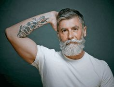 Do you suffer from slow beard growth? Boost your beard growth with these all-natural beard growth products handmade in Colorado. Beards And Mustaches, Grey Beards, Long Beards, Moustaches, Old Male Model, Male Models, Beard Growth, Beard Care, Beard Styles Images