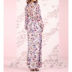 LC Lauren Conrad Floral print maxi dress size 10 BNWT LC Lauren Conrad Floral print maxi dress size 10. Super comfortable and flowy. Does has a lining. Reasonable offers accepted though the offer button. No trades! LC Lauren Conrad Dresses Maxi