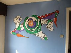 Boys Bedroom - Toy Story - Buzz Lightyear #bedroom #toystory #buzz