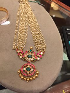 South Indian bridal jewlry  #Indian #Jewellery