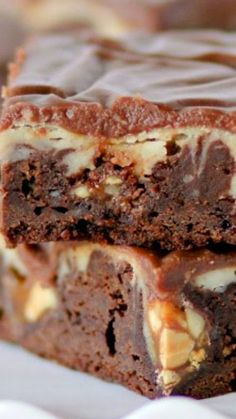"""Snickers Cheesecake Fudge Brownies   """"These Look Amazing.,Yummy and Delicious!"""""""