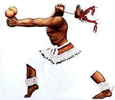 yaqui  mary louise lopez a dynamic painting of a yaqui hiaki yoeme