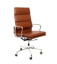 leather swivel office chair. Leather Upholstery Tilt And Swivel Five-star Polished Base A Back Mechanism Which Can · Desk ChairsOffice Office Chair D