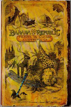 Remember the old Banana Republic catalogs?  I wish I had saved them!!