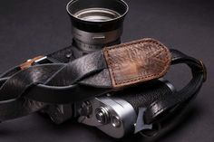 The Leather Strap   Leather Camera Strap
