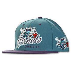 Charlotte Hornets Wings NBA Snap Back Hat