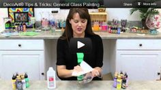 Glass painting tips