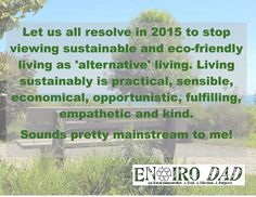 An eco-friendly New Year's resolution!