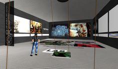 Craft World (OpenSim) - Inauguración del Museo del Metaverso