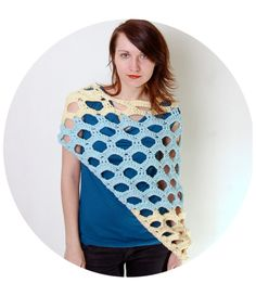 PATTERNFISH - shrug pattern for purchase