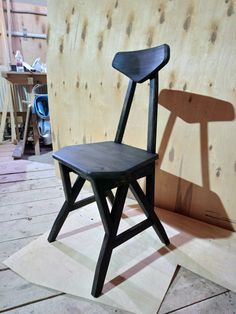 furniture, stool, chair, chairs, black, wood, woodwork