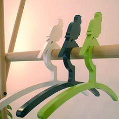 Hangers with bird hook!
