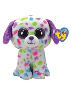 ab3294c48ba Amazon.com  Ty Beanie Boos Darling - Dog (Justice Exclusive)  Toys   Games