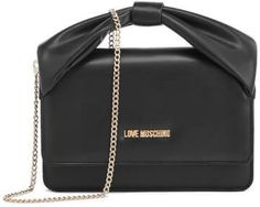 Love Moschino Women's Bow Shoulder Bag Black