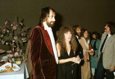 Stevie Nicks and Mick Fleetwood