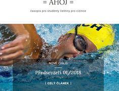 Časopis AHOJ – Rozumím a píšu česky Pisa, Personal Care, Eyes, Beauty, Beleza, Personal Hygiene, Cat Eyes, Human Eye